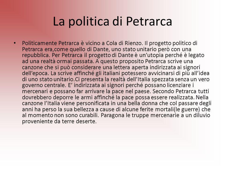 La politica di Petrarca