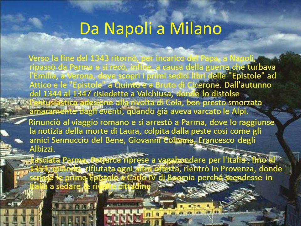 Da Napoli a Milano