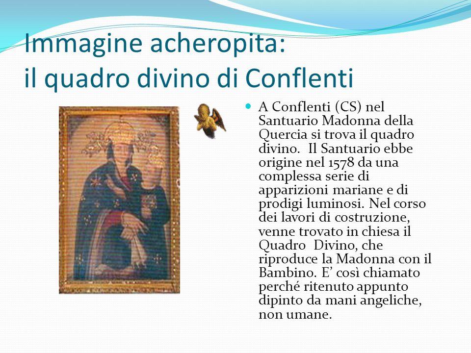 Immagine acheropita: il quadro divino di Conflenti