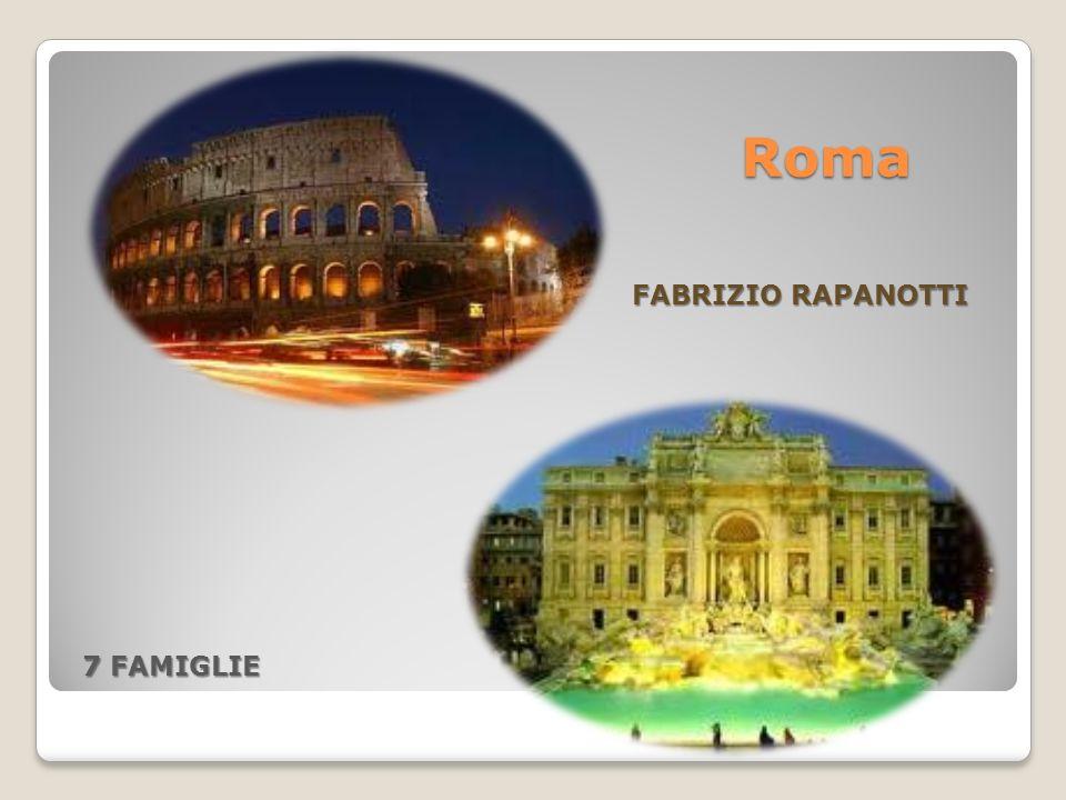 Roma FABRIZIO RAPANOTTI 7 FAMIGLIE