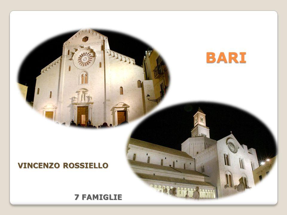 BARI VINCENZO ROSSIELLO 7 FAMIGLIE