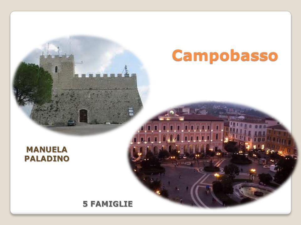 Campobasso MANUELA PALADINO 5 FAMIGLIE