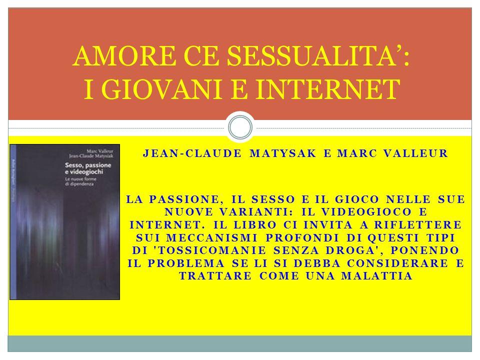 AMORE CE SESSUALITA': I GIOVANI E INTERNET