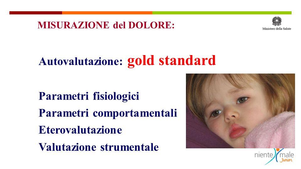Autovalutazione: gold standard