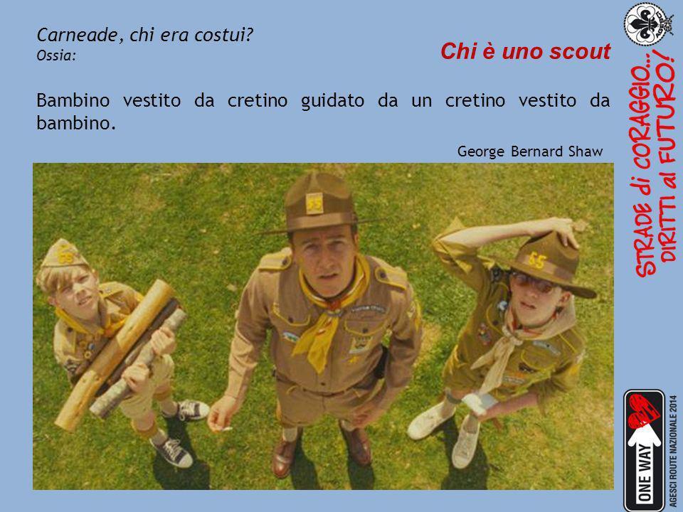 Chi è uno scout Carneade, chi era costui