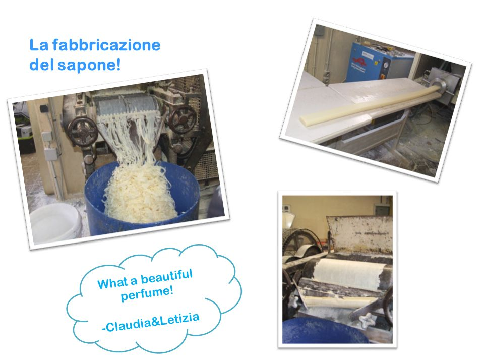 La fabbricazione del sapone!