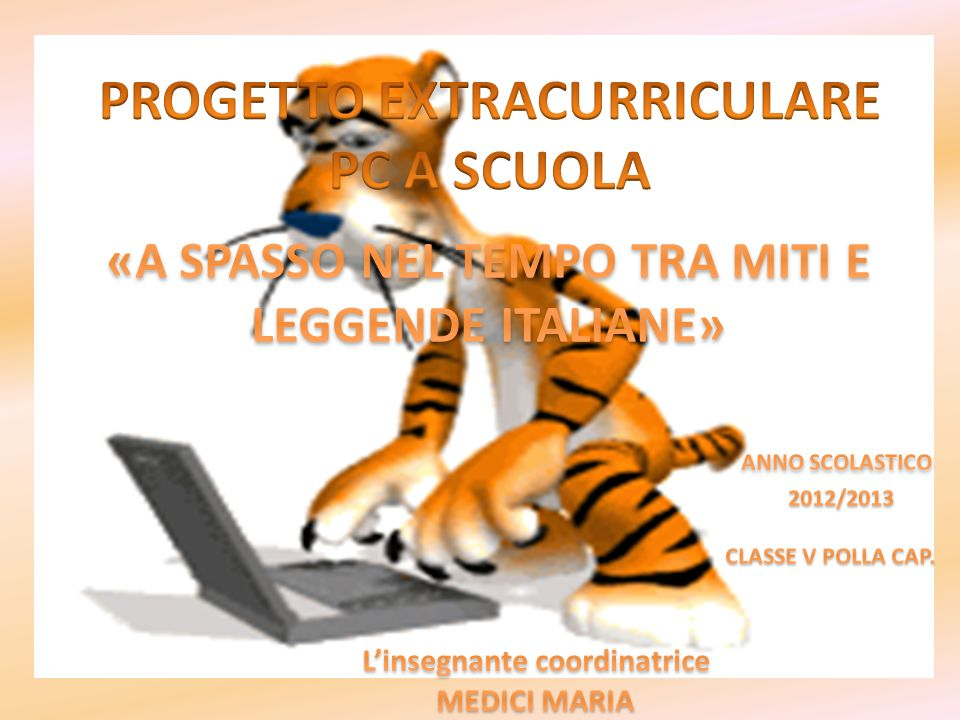 PROGETTO EXTRACURRICULARE