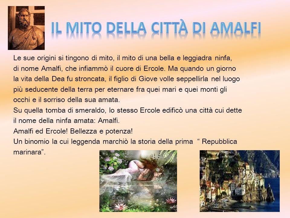 IL MITO della città di Amalfi
