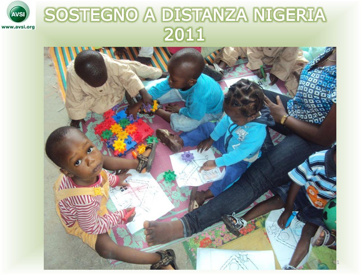 SOSTEGNO A DISTANZA NIGERIA 2011