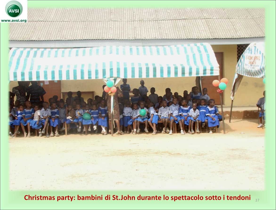 Christmas party: bambini di St
