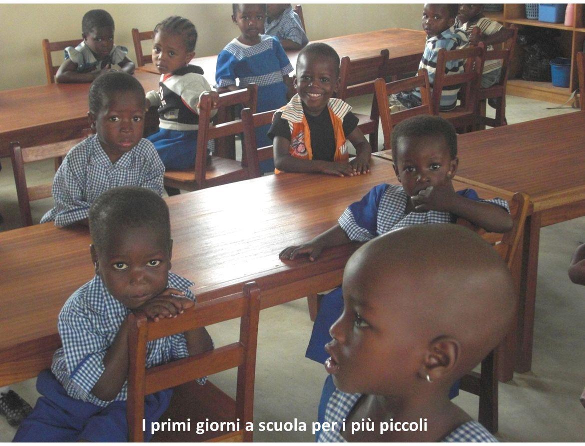 I primi giorni a scuola per i più piccoli