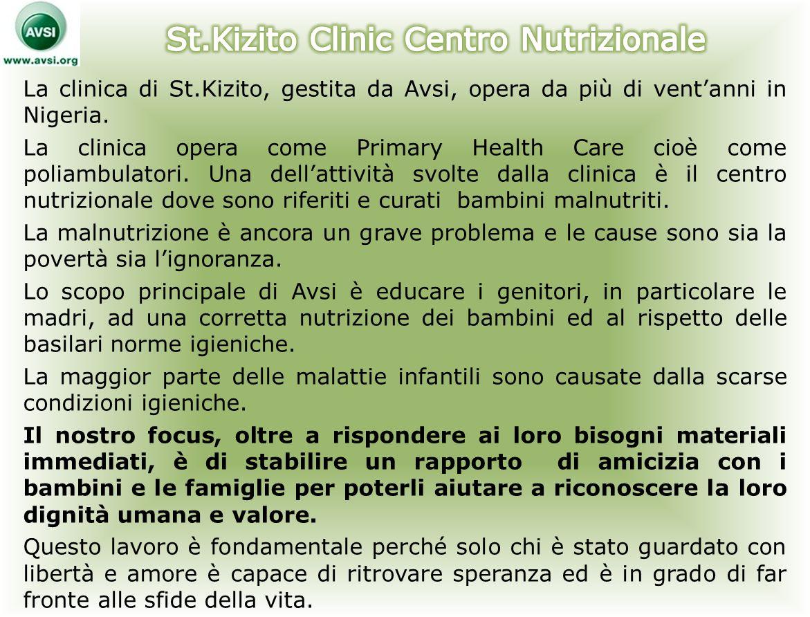 St.Kizito Clinic Centro Nutrizionale