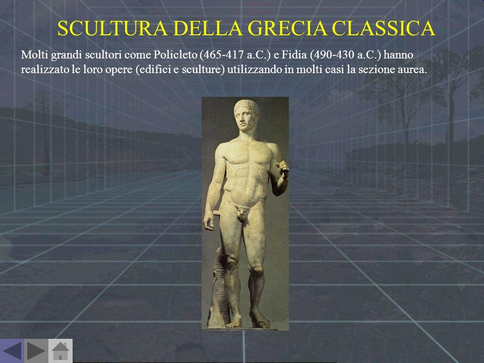 SCULTURA DELLA GRECIA CLASSICA