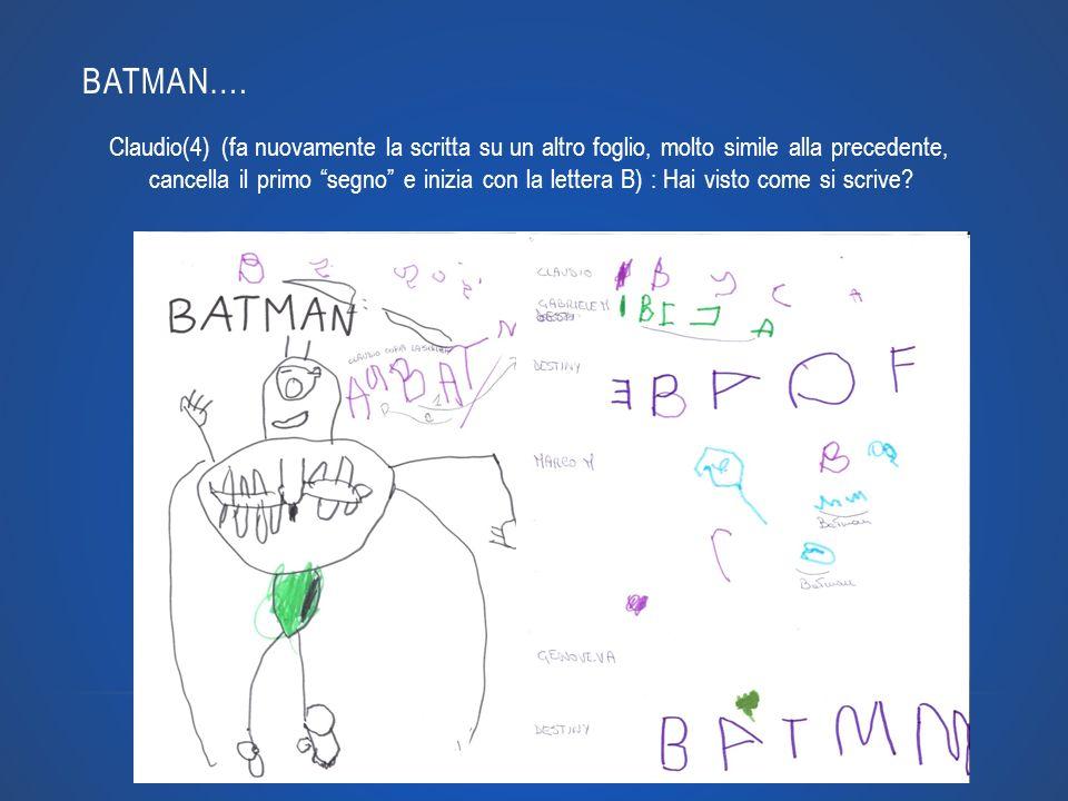 BATMAN….
