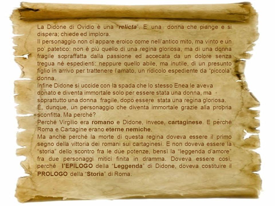 La Didone di Ovidio è una relicta