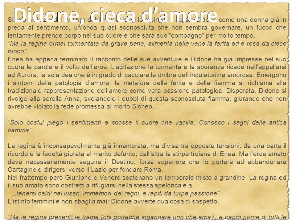 Didone, cieca d'amore