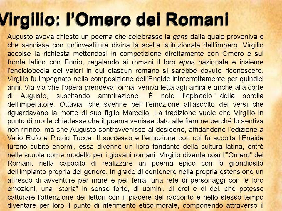 Virgilio: l'Omero dei Romani