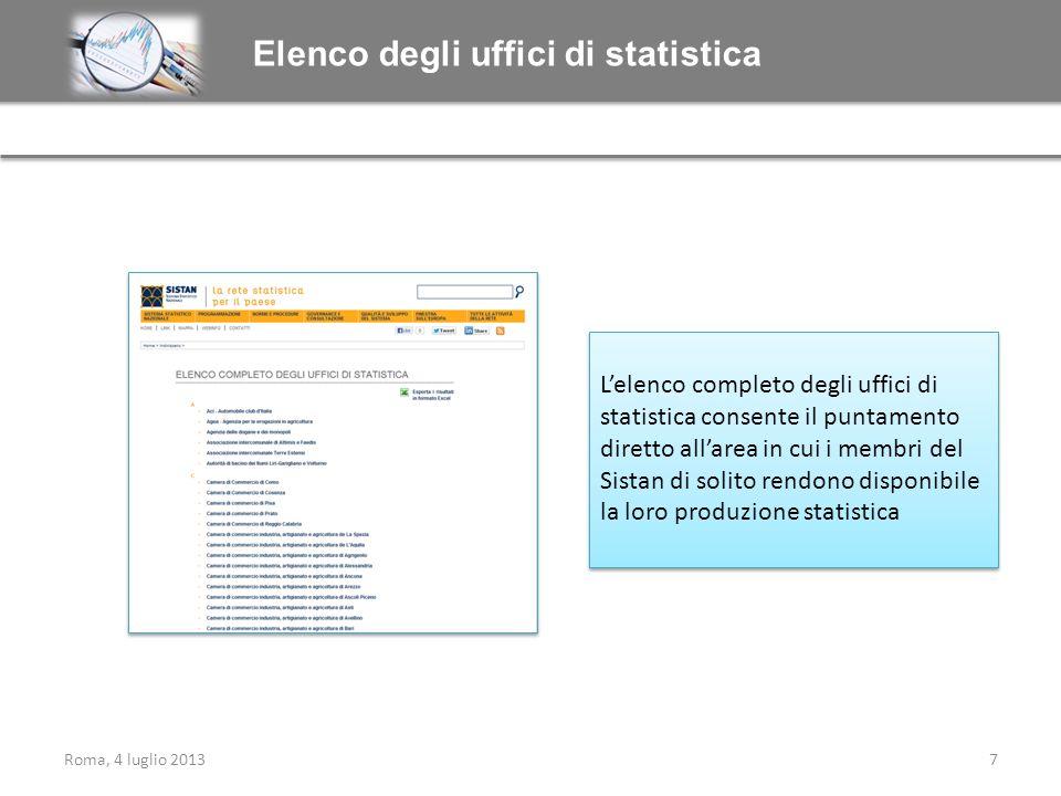 Elenco degli uffici di statistica