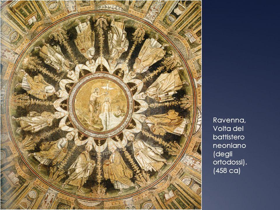 Ravenna, Volta del battistero neoniano (degli ortodossi).