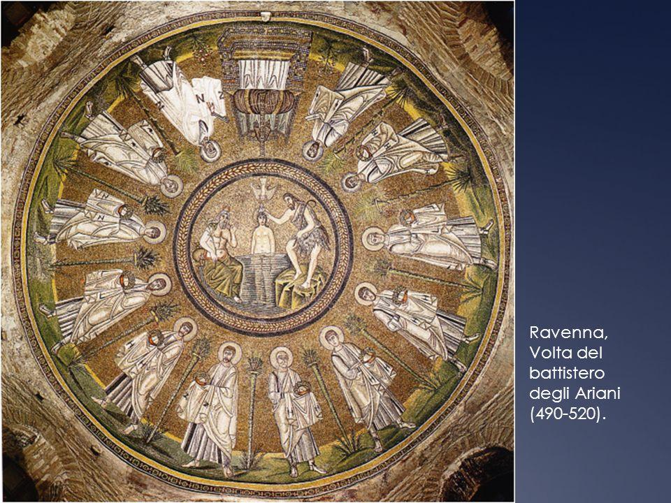 Ravenna, Volta del battistero degli Ariani