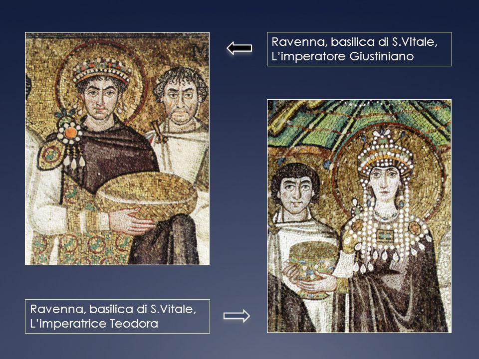 Ravenna, basilica di S.Vitale, L'imperatore Giustiniano