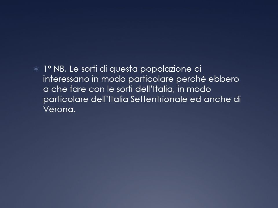1° NB.