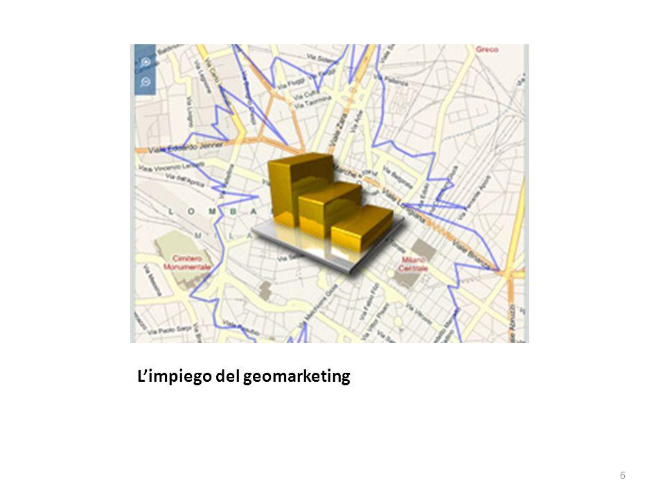 L'impiego del geomarketing