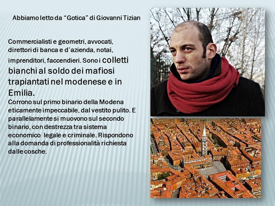 Abbiamo letto da Gotica di Giovanni Tizian