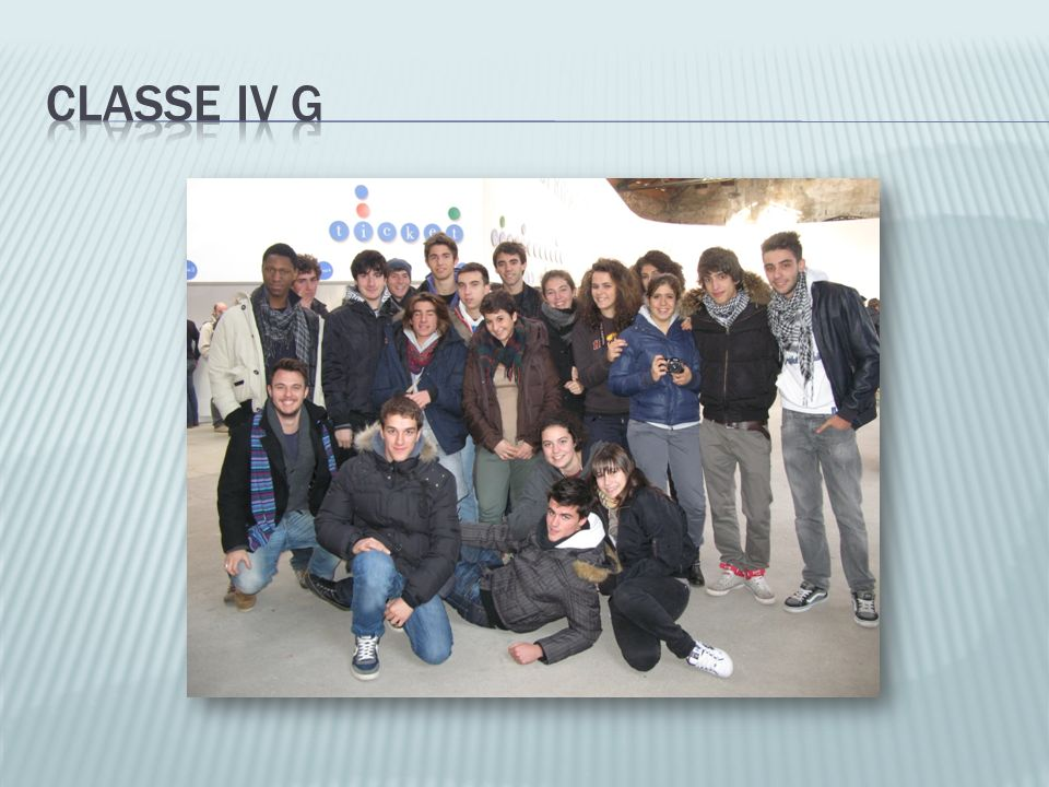 Classe IV G