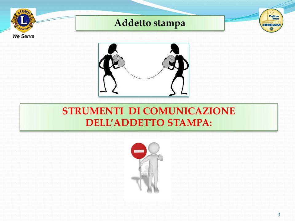 STRUMENTI DI COMUNICAZIONE