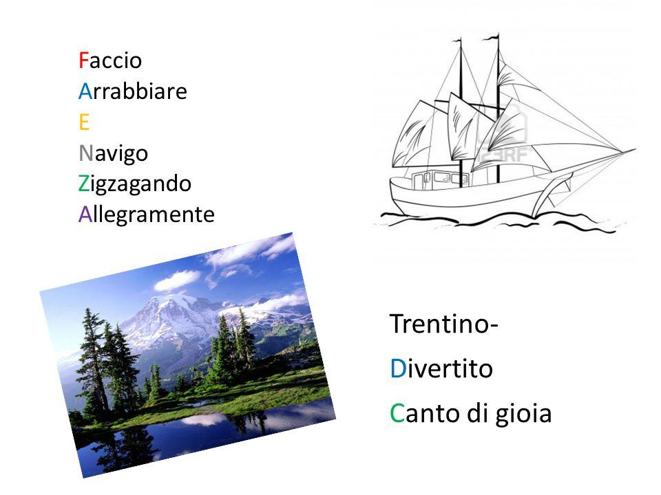 Trentino- Divertito Canto di gioia Faccio Arrabbiare E Navigo