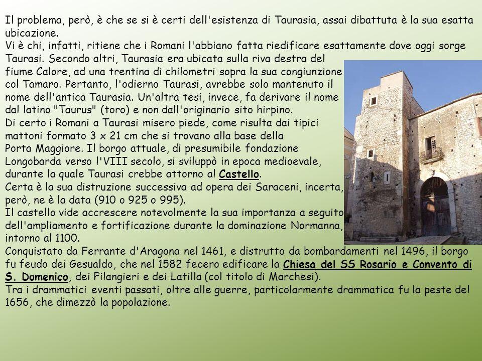 Il problema, però, è che se si è certi dell esistenza di Taurasia, assai dibattuta è la sua esatta ubicazione.