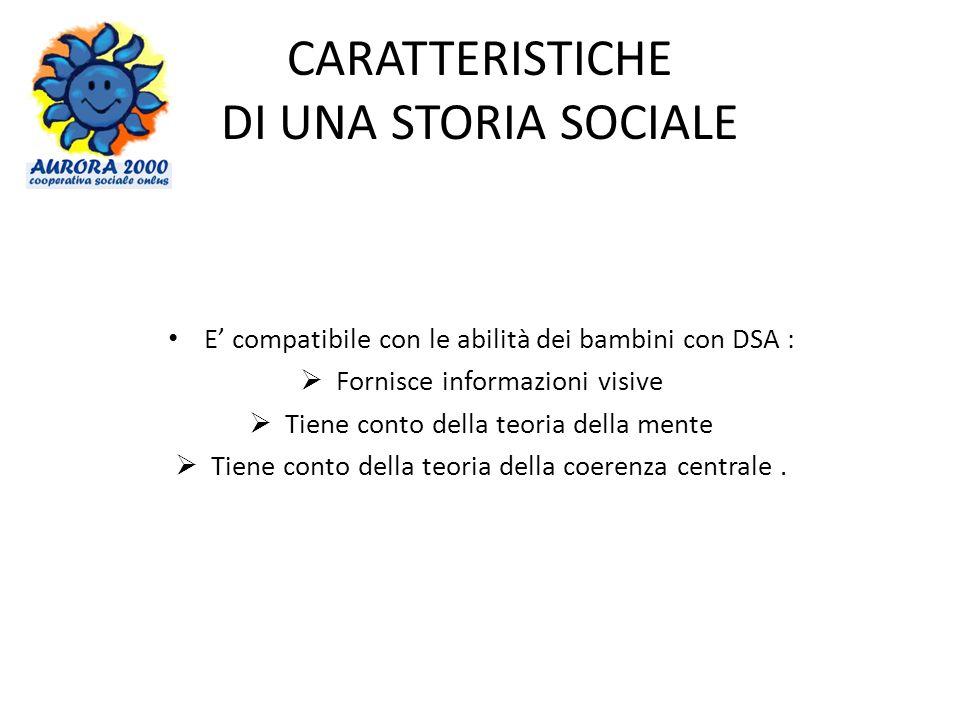 CARATTERISTICHE DI UNA STORIA SOCIALE
