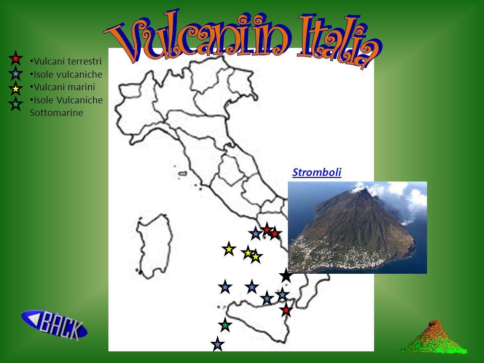 Vulcani in Italia Stromboli Vulcani terrestri Isole vulcaniche