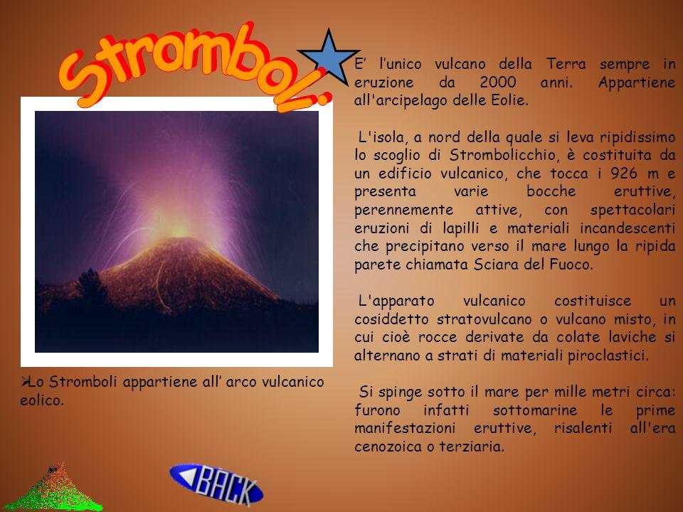 E' l'unico vulcano della Terra sempre in eruzione da 2000 anni