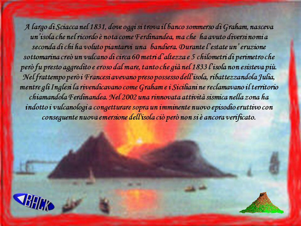 I vulcani un vulcano una spaccatura della crosta terrestre attraverso la quale vengono emessi - Sopra un mare di specchi si vola ...