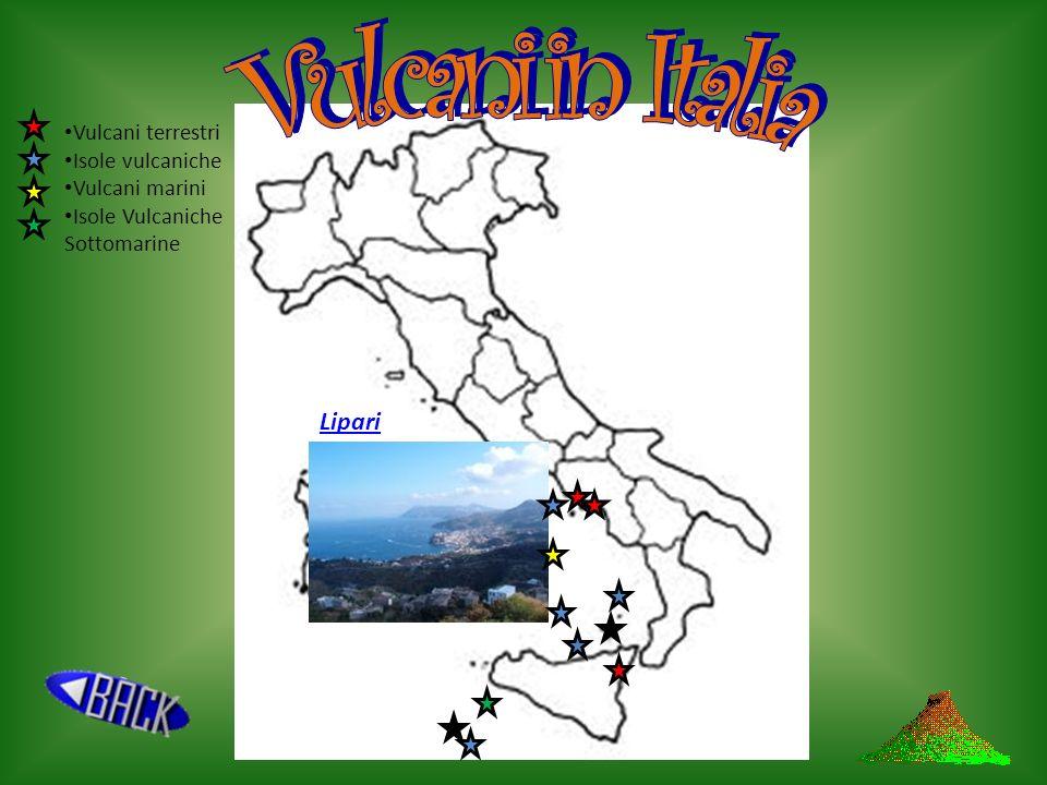 Vulcani in Italia Lipari Vulcani terrestri Isole vulcaniche