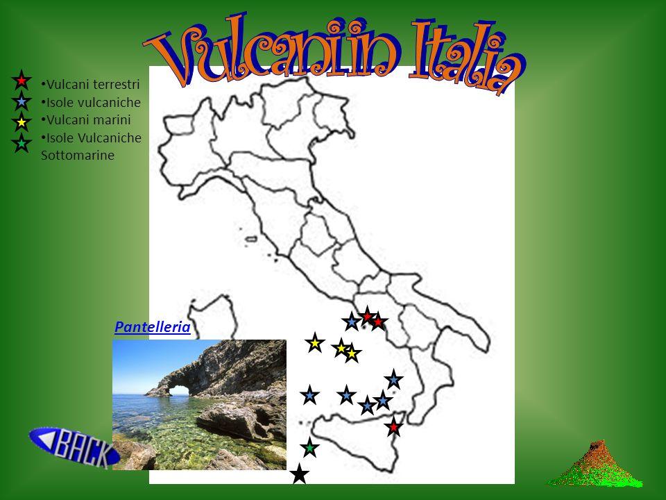 Vulcani in Italia Pantelleria Vulcani terrestri Isole vulcaniche