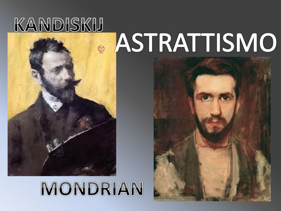 KANDISKIJ ASTRATTISMO MONDRIAN