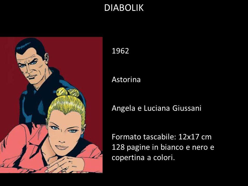 DIABOLIK 1962 Astorina Angela e Luciana Giussani