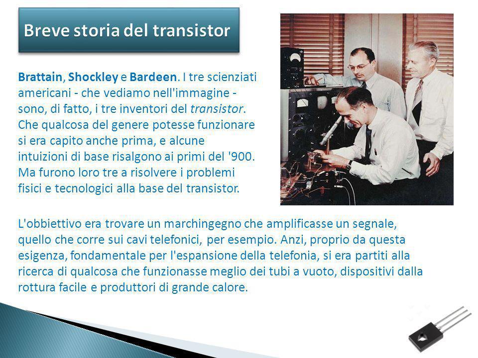Breve storia del transistor