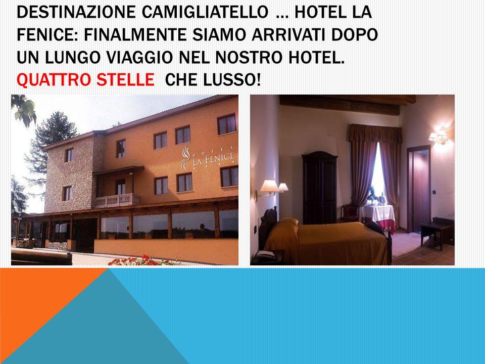 destinazione camigliatello … Hotel la fenice: finalmente siamo arrivati dopo un lungo viaggio nel nostro hotel.
