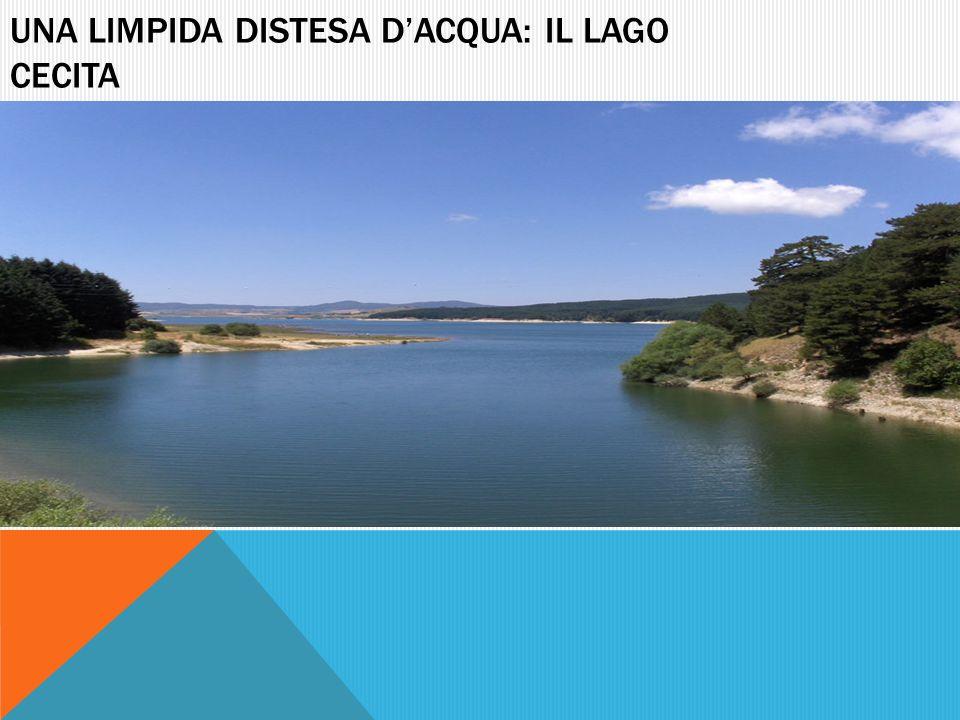 Una limpida distesa d'acqua: il lago cecita