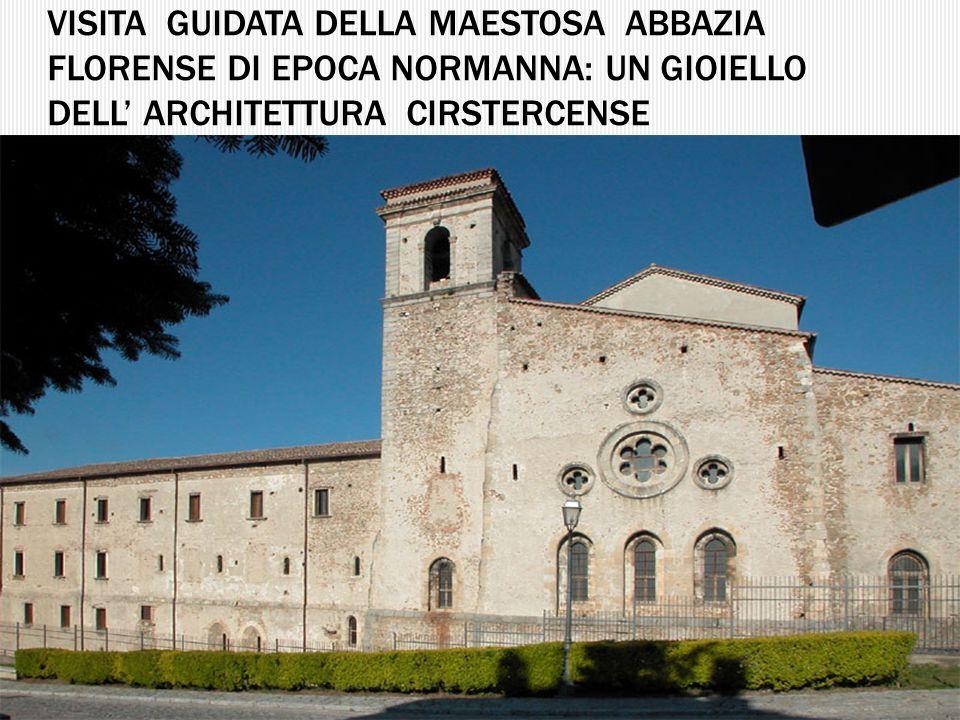 Visita guidata della maestosa abbazia florense di epoca normanna: un gioiello Dell' architettura cirstercense