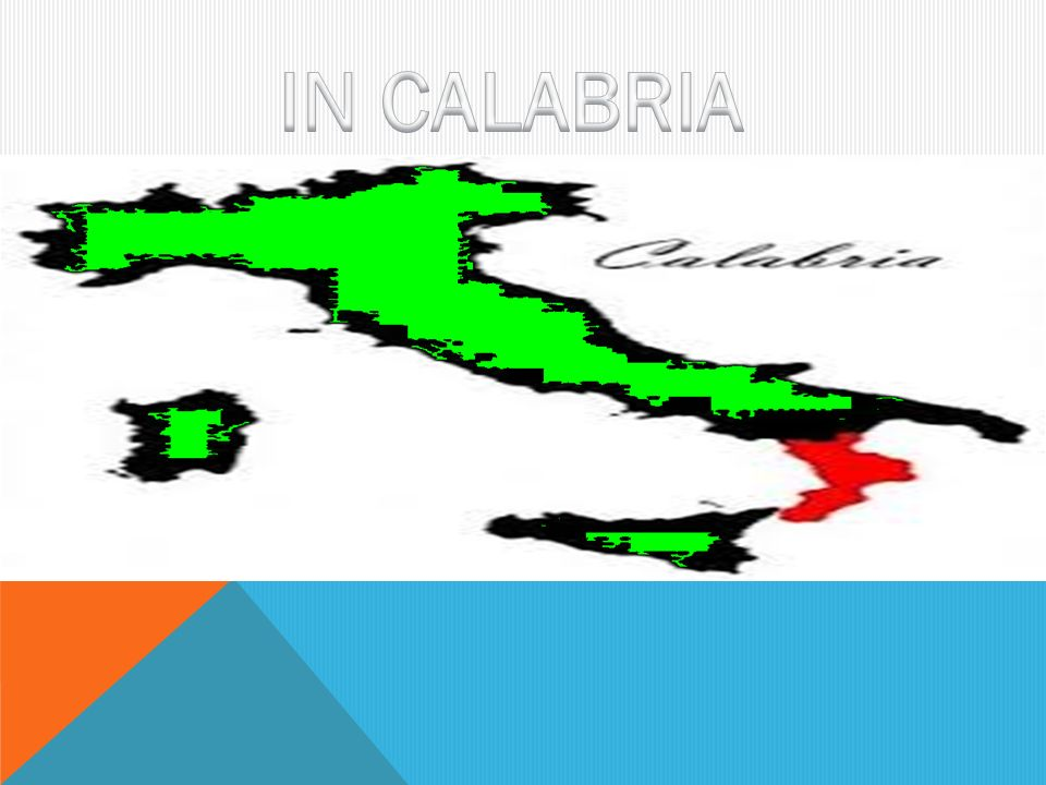 IN CALABRIA