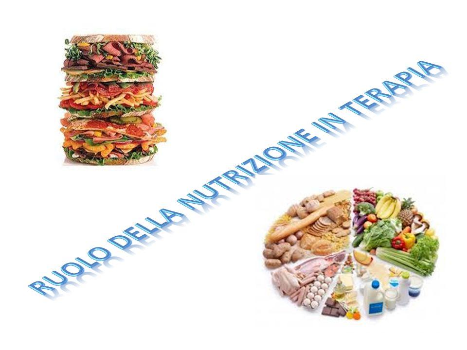 RUOLO DELLA NUTRIZIONE IN TERAPIA