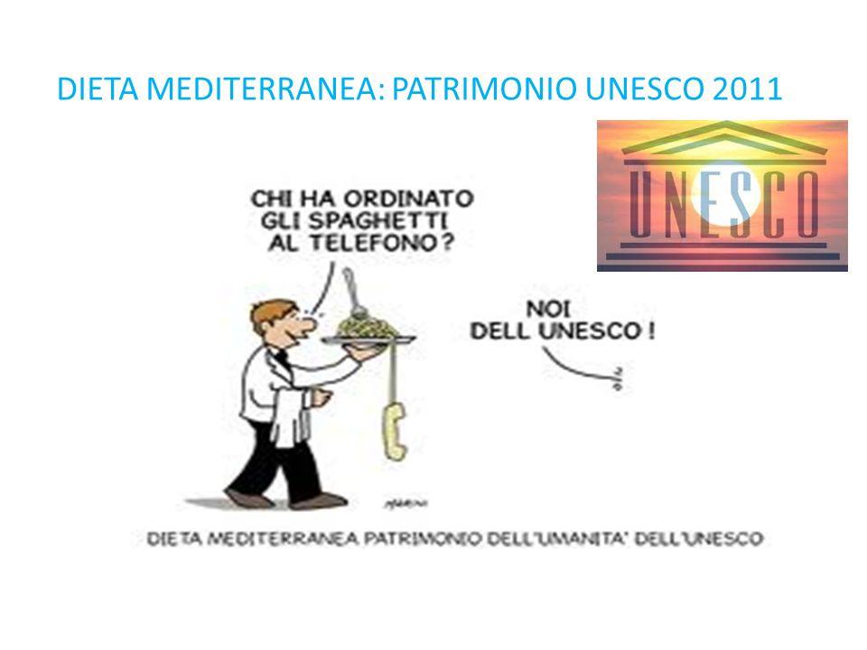 DIETA MEDITERRANEA: PATRIMONIO UNESCO 2011