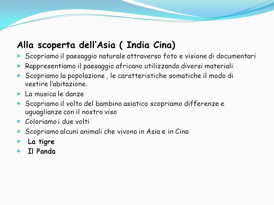 Alla scoperta dell'Asia ( India Cina)