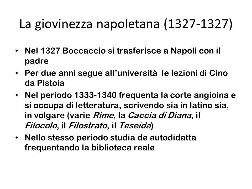 La giovinezza napoletana (1327-1327)
