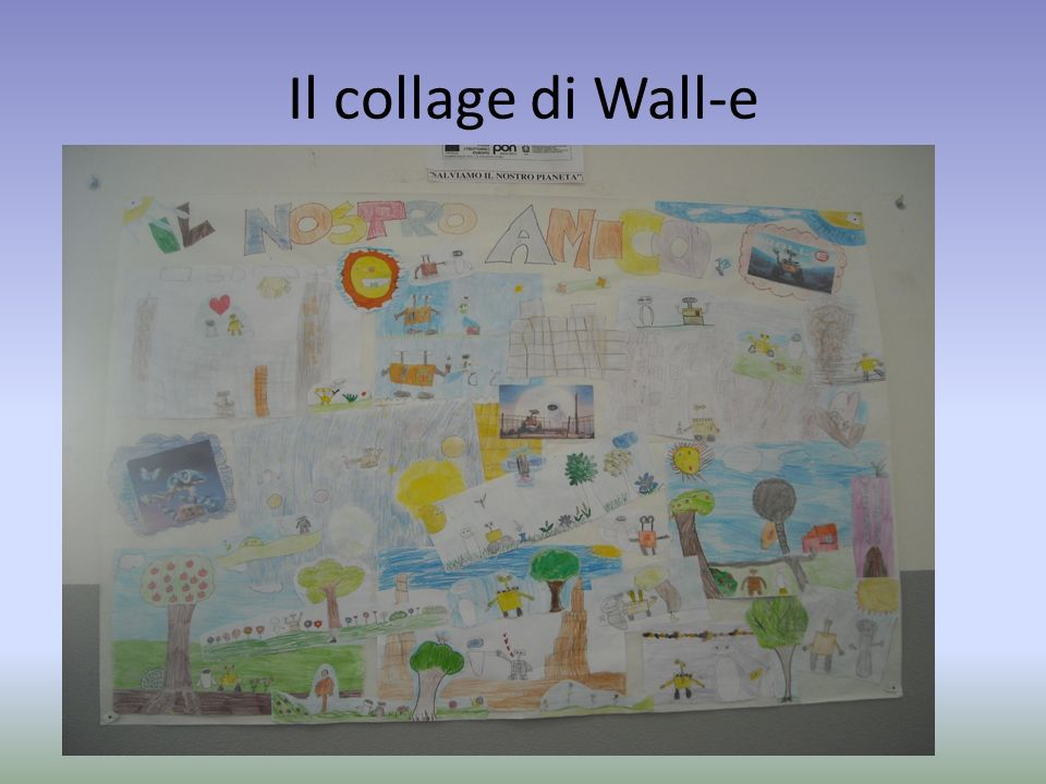 Il collage di Wall-e